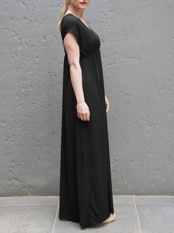 JMVB Rain Maxi Dress Black Side