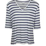 JMVB V-neck Striped T-shirt