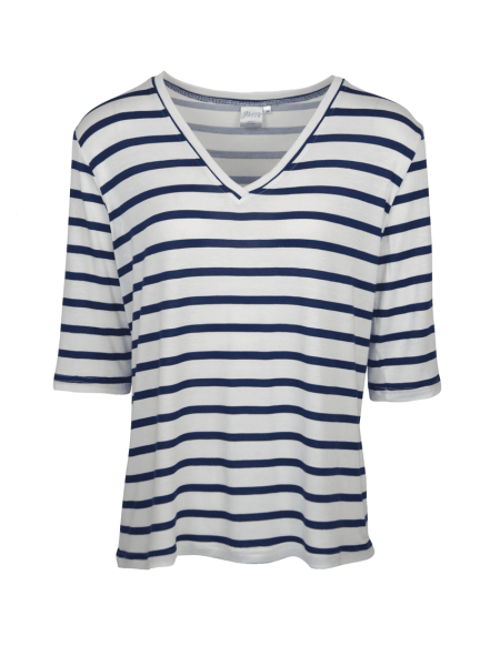 V-neck striped T-shirt South Africa