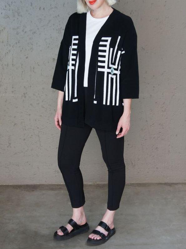 Romaira Pacgirl Knitted Jacket Angle