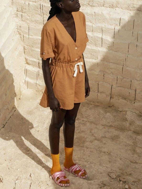 Asha Eleven Kasi Blouse Chesa with Salama Shorts