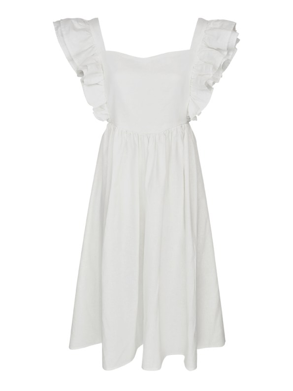 Asha Eleven Pambo Dress Off-white