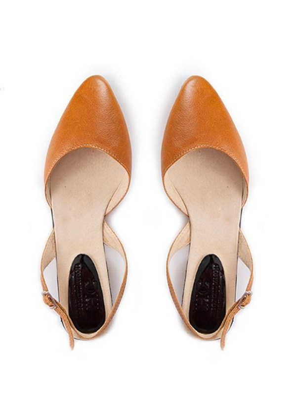 House of Cinnamon Bailey Slingback Tan Pair