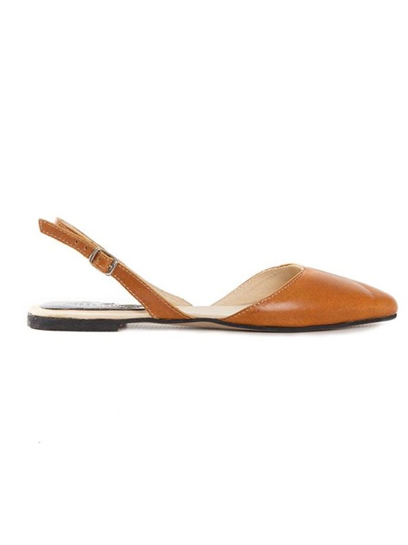 House of Cinnamon Bailey Slingback Tan
