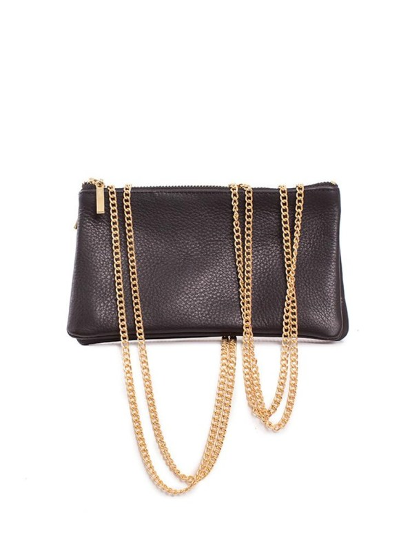 House of Cinnamon Jan Bag Black