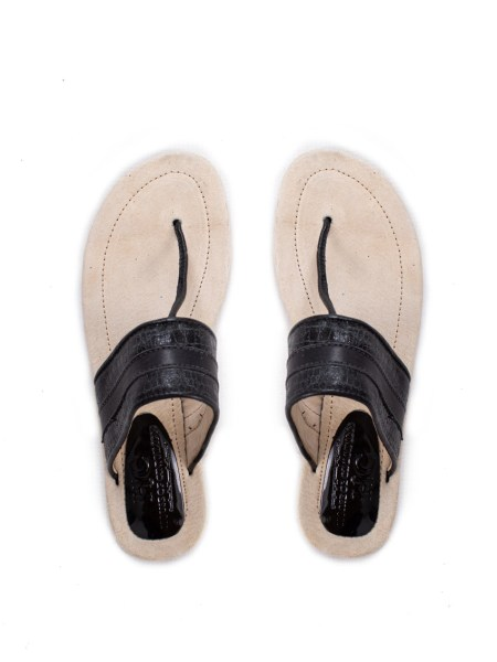 black leather thong sandals South Africa