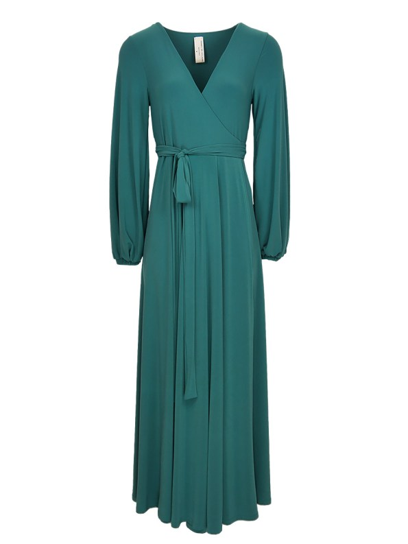 green maxi wrap dress South Africa