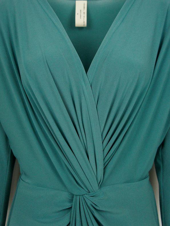 IDV Twist Dress Seafoam Detail