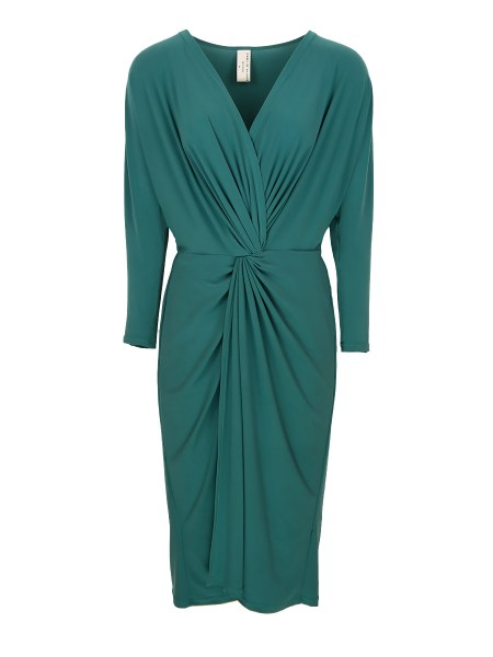 seafoam green plus size evening dress