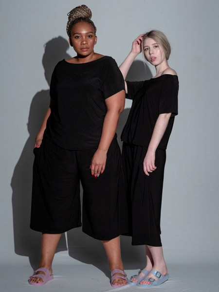 black plus size jumpsuit South Africa