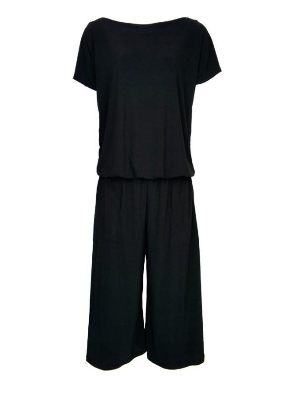 Isabel de Villiers Culotte Jumpsuit Black