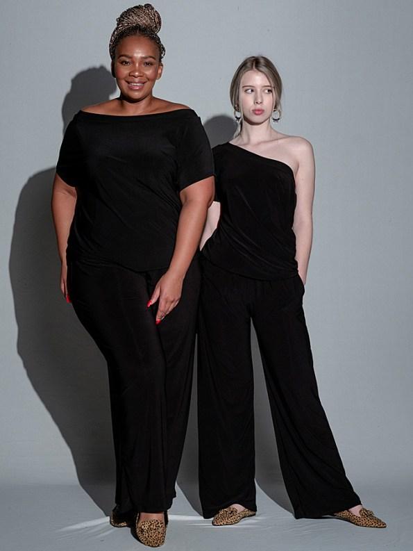 Isabel de Villiers Summer Jumpsuit Black Both