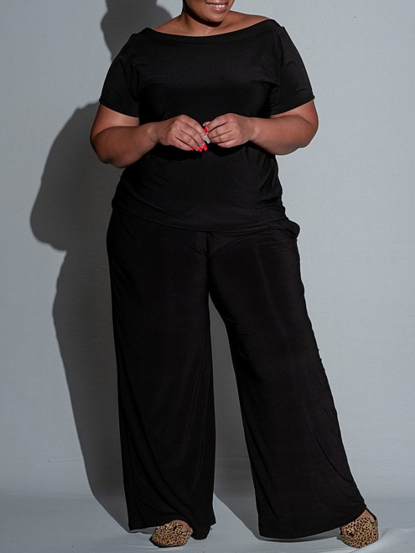 Isabel de Villiers Summer Jumpsuit Black Front