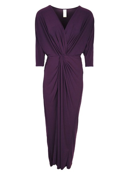 plus size evening dress purple South Africa