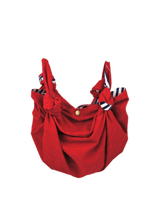 JMVB Furoshiki Small Bag Red