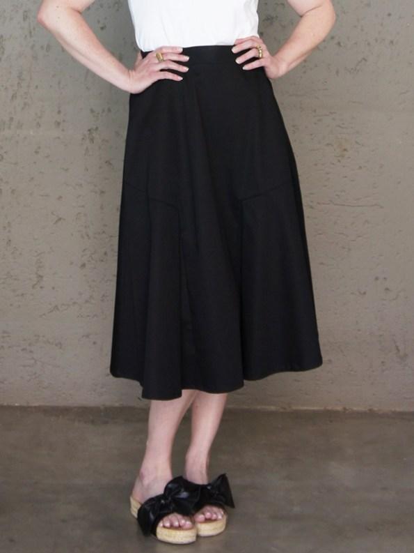JMVB Joplin Skirt Black Cropped