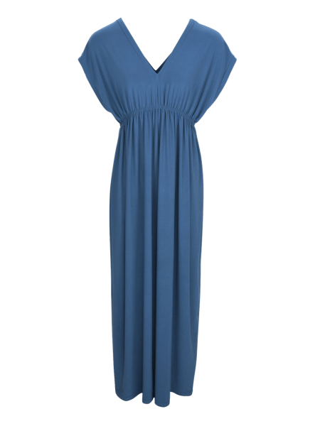 Blue Maxi Dress with Empire Line South Africa