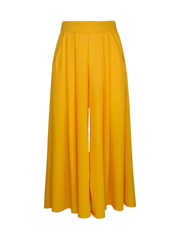 Erre Flow Culottes Yellow