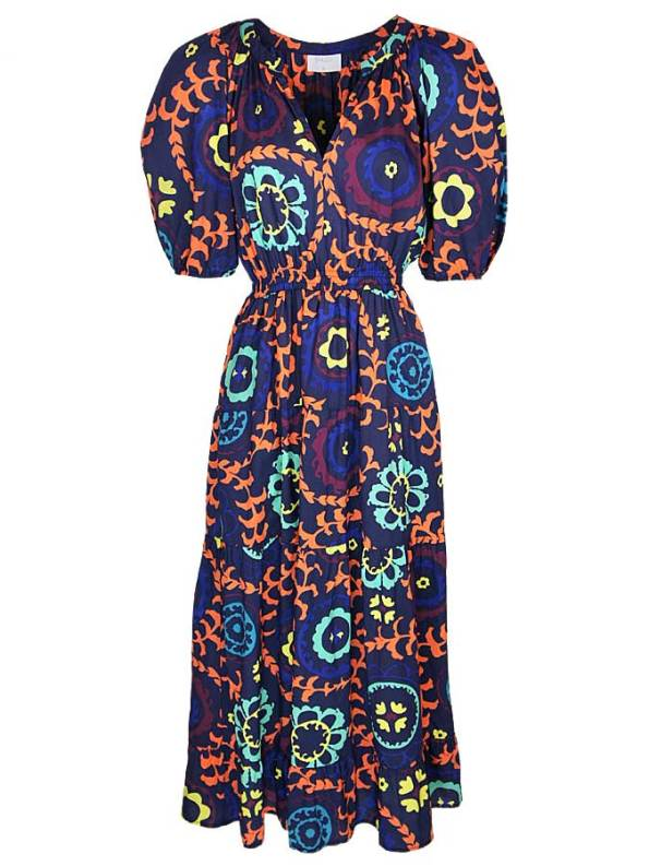 Smudj Chasing Aimee Cotton Maxi Dress