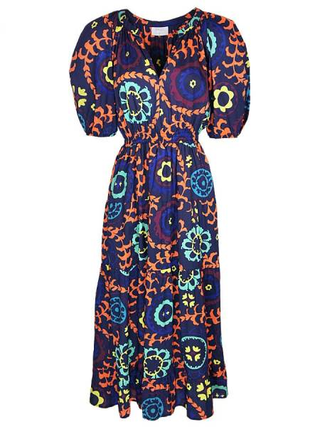 Cotton maxi dress with floral print South Africa