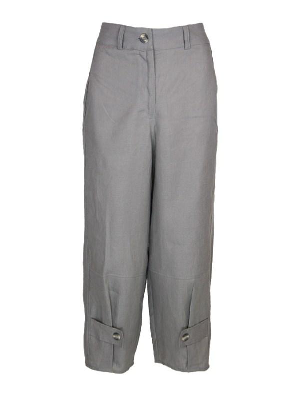 Smudj Daniel Linen Capri Pants