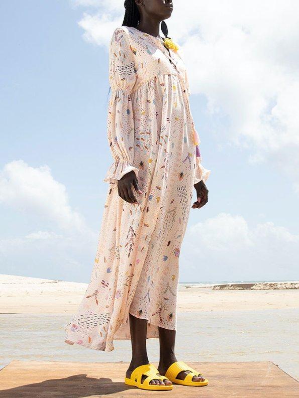 Asha Eleven Dada Maxi Dress Follow Your Signs Side