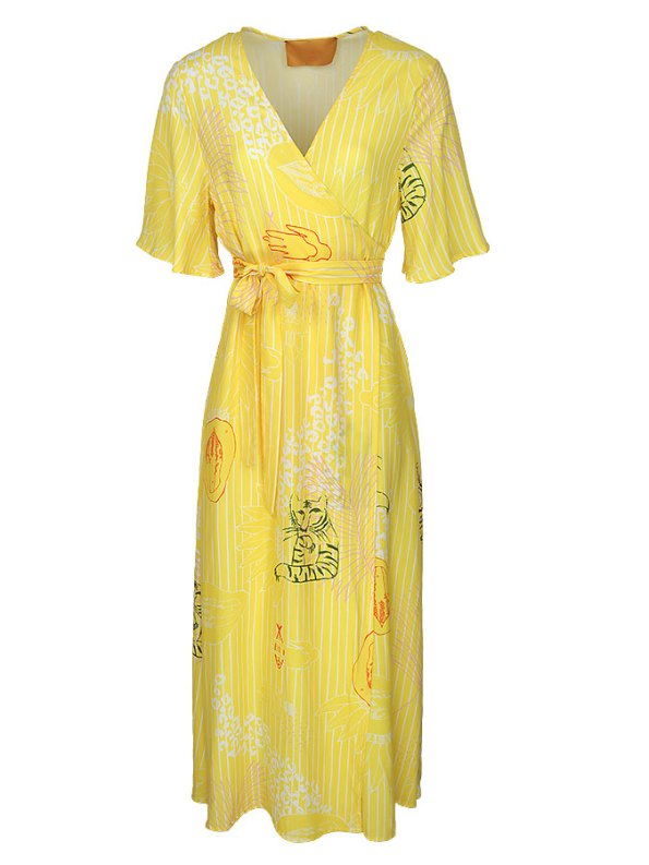 Asha Eleven Diani Wrap Dress Everything is Everyone