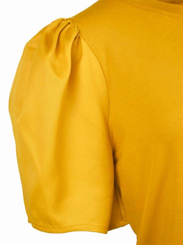 Erre Silhouette T-shirt yellow Sleeve