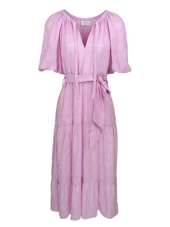 Smudj Chasing Aimee Swing Dress Pink