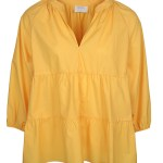 Yellow cotton babydoll top women South Africa
