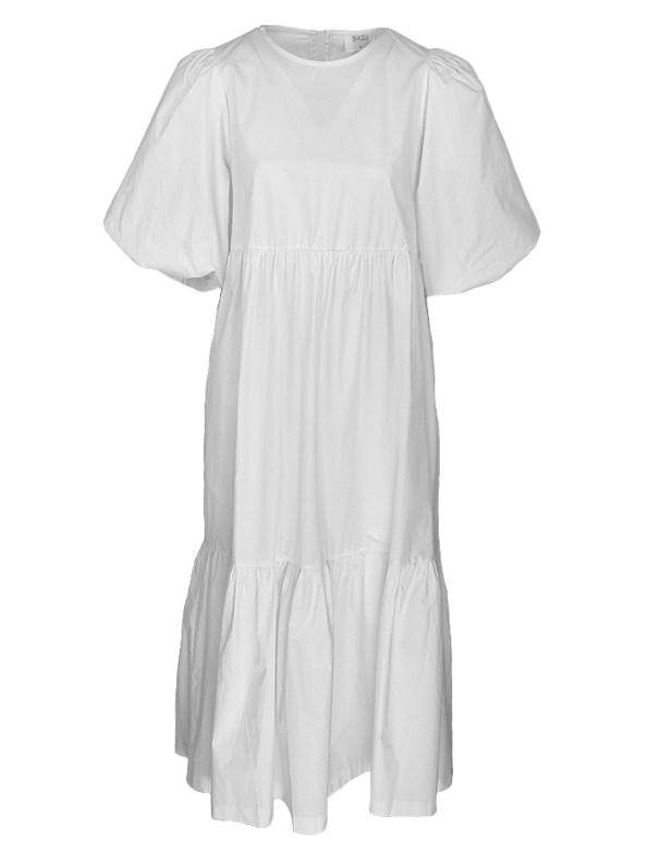 Smudj In 2 Minds Dress White 2