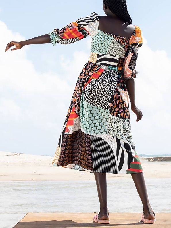 Asha Eleven Jani Dress Transcendence Back