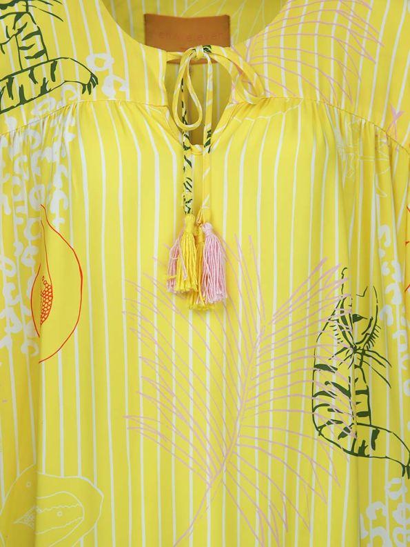 Asha Eleven Kuku Dress Everything is Everyone Detail