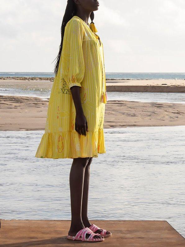 Asha Eleven Kuku Dress Everything is Everyone Side 2