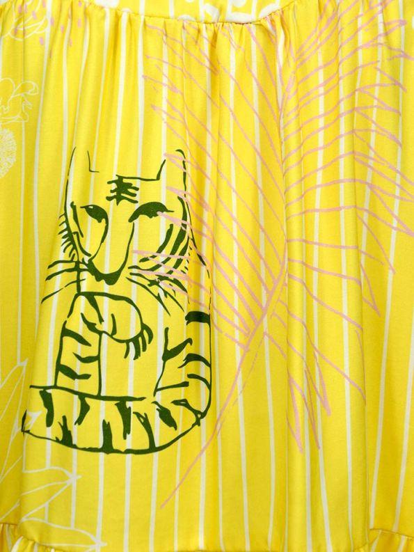 Asha Eleven Maradadi Blouse Everything is Everyone Fabric