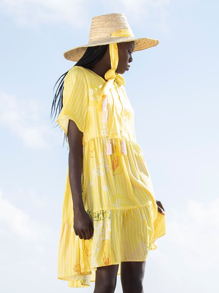 Tencel yellow dress South Africa