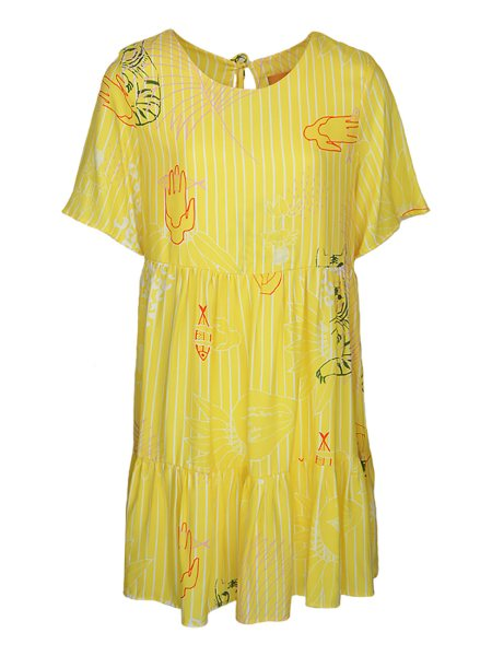 knee length yellow dress South Africa