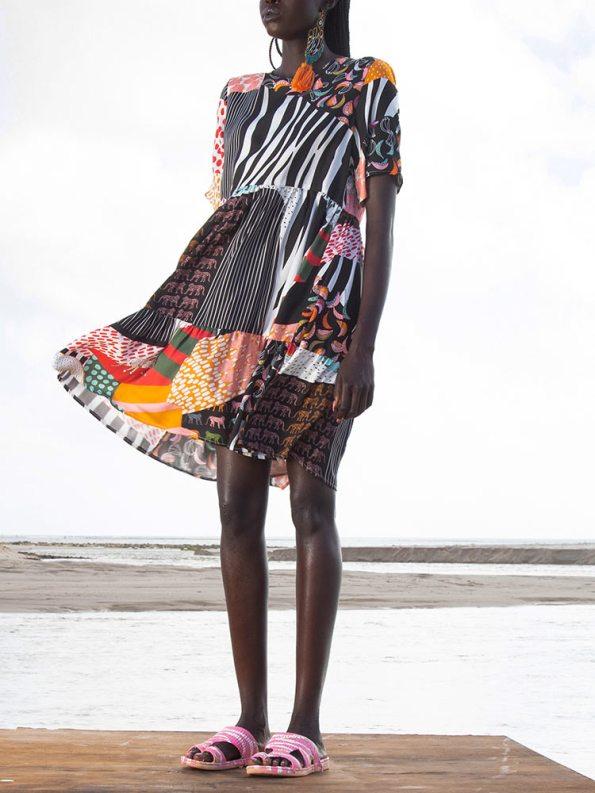 Asha Eleven Muda Dress Transcendence Front