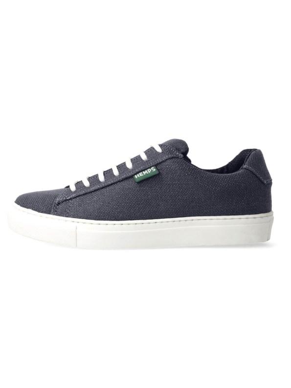 Reefer Hemp Sneakers Steel Blue Left Side _EDIT2
