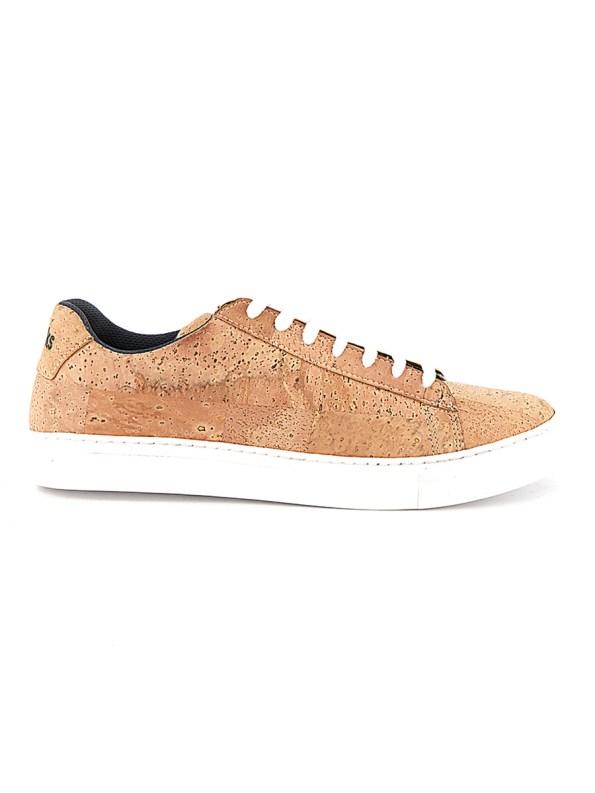 Reefer Natural Cork Sneakers Side