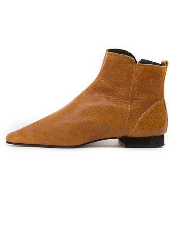 House of Cinnamon Suna Boots Tan Left_