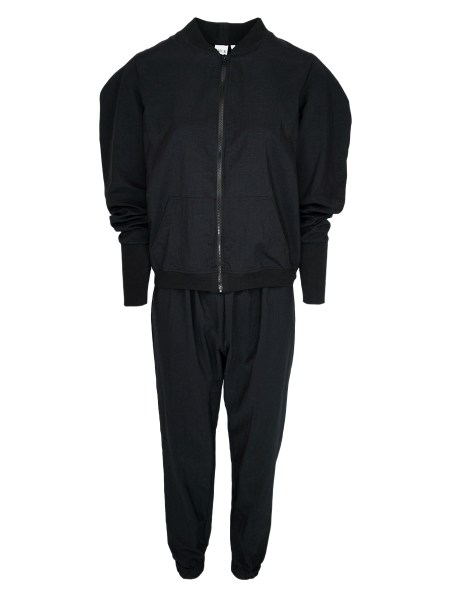 Black Zip up tracksuit for women South Africa