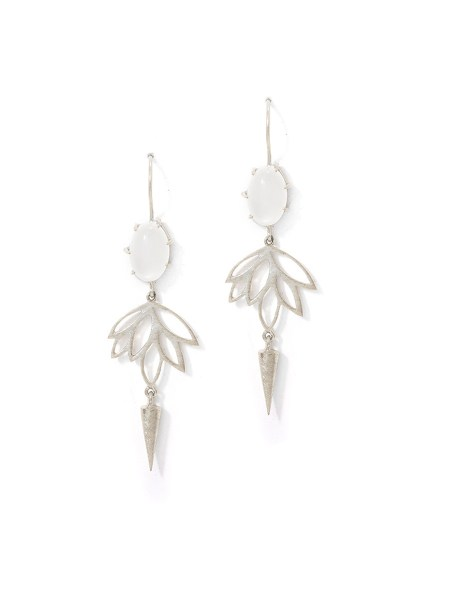long earrings with moonstone South Africa