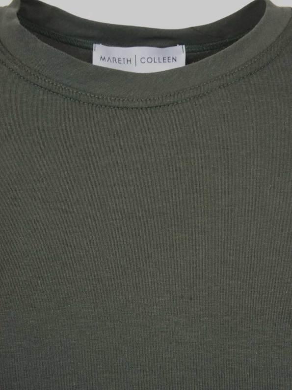 Mareth Colleen Teddy Set Olive Detail