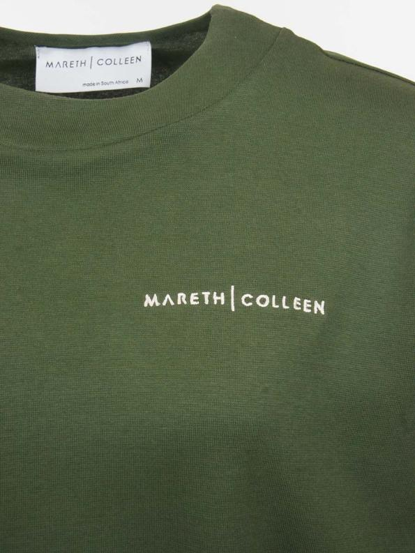 Mareth Colleen Tracksuit Olive Logo
