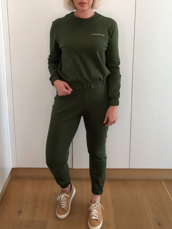 Mareth Colleen Tracksuit Olive Walk