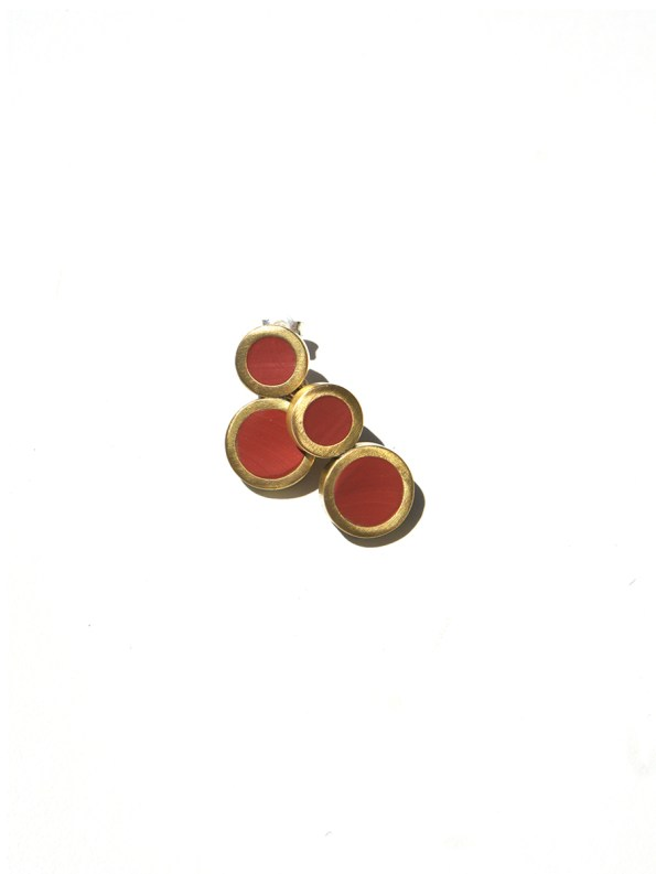 Iloni Eight Earring Red