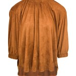 suede top caramel brown womens South Africa