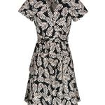 leaf print wrap dress South Africa