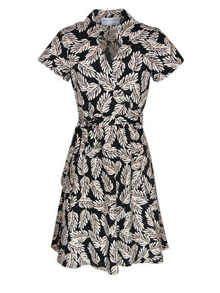 leaf print wrap dress South Africa